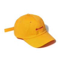 LINE CURVED CAP-YELLOW