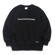 N CORE SWEATSHIRT-BLACK