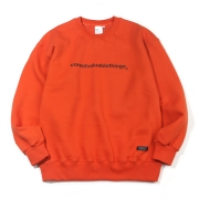 N CORE SWEATSHIRT-ORANGE